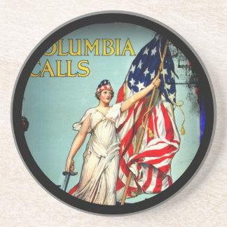 Columbia Calls Enlist Now Coaster