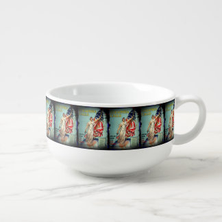Columbia Calls Enlist Now Soup Mug