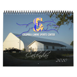 Columbia Canine Sports Generic 2010 Dog Calendar