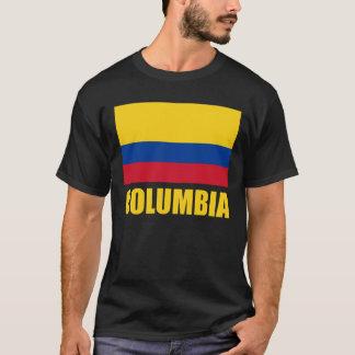 Columbia Flag Yellow Text T-Shirt