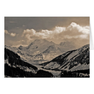 Columbia Icefields Card
