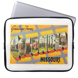 Columbia Missouri MO Old Vintage Travel Souvenir Laptop Computer Sleeves