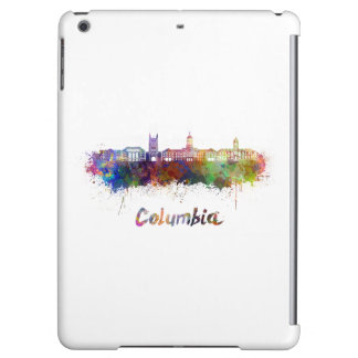 Columbia MO skyline in watercolor iPad Air Cover