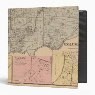 Columbia, Ohio 3 Ring Binder