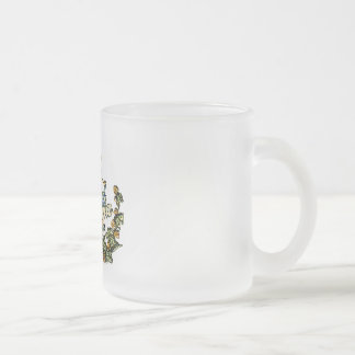 Columbia Pale Beer Frosted Glass Coffee Mug