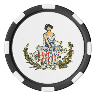 Columbia Pale Beer Poker Chips