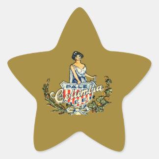 Columbia Pale Beer Star Sticker