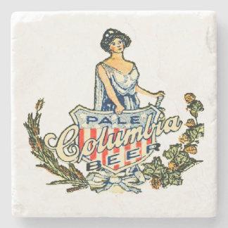 Columbia Pale Beer Stone Coaster