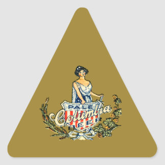Columbia Pale Beer Triangle Sticker