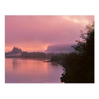 Columbia River Gorge, Sunrise, OR Postcard