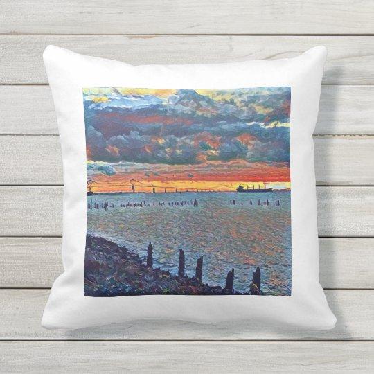 Columbia River Maritime Pillow