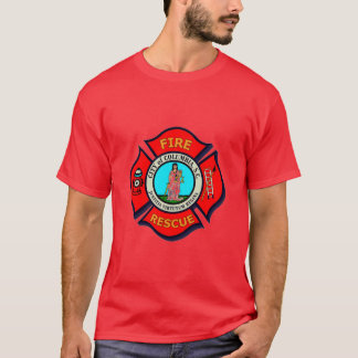 Columbia,SC Fire Rescue T-Shirt