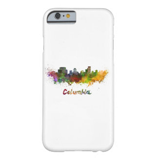 Columbia skyline in watercolor barely there iPhone 6 case