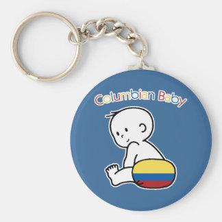 Columbian Baby Key Chain