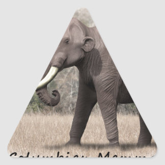 Columbian Mammoth Triangle Sticker