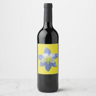 Columbine 2 wine label