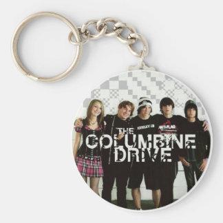 Columbine Drive Keychain