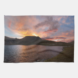 Columbine Lake Sunrise - Weminuche Wilderness Hand Towels