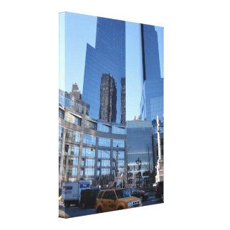 Columbus Circle Architecture New York City NYC Canvas Print