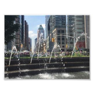 Columbus Circle Architecture New York City NYC Photo Print