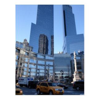 Columbus Circle Architecture New York City NYC Postcard