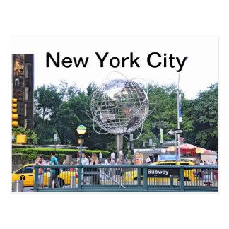 Columbus Circle Postcard