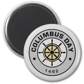 Columbus Day J Magnet