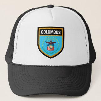 Columbus  Flag Trucker Hat