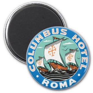 Columbus Hotel , Roma Magnet