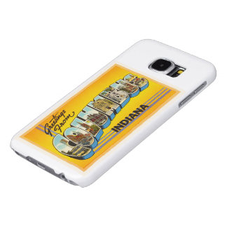 Columbus Indiana IN Old Vintage Travel Souvenir Samsung Galaxy S6 Cases