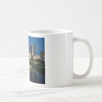 Columbus Night Skyline Coffee Mug