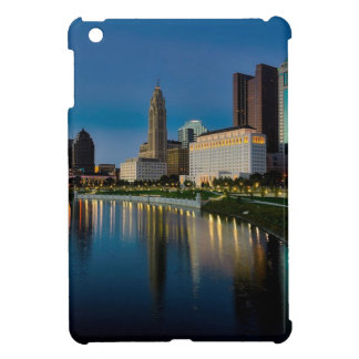 Columbus Night Skyline iPad Mini Cover