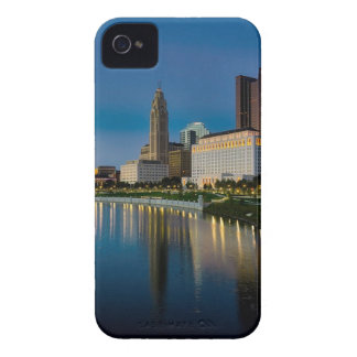Columbus Night Skyline iPhone 4 Cover