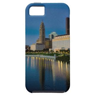 Columbus Night Skyline iPhone 5 Covers