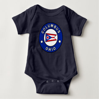 Columbus Ohio Baby Bodysuit
