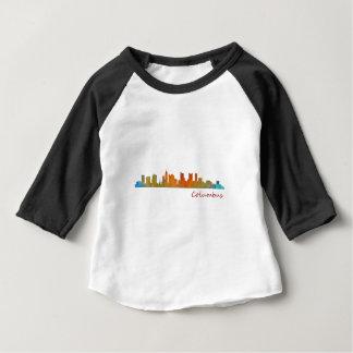 Columbus Ohio, City Skyline, v1 Baby T-Shirt