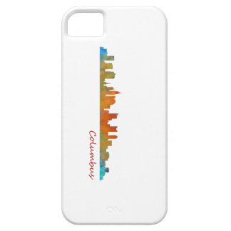 Columbus Ohio, City Skyline, v1 Case For The iPhone 5