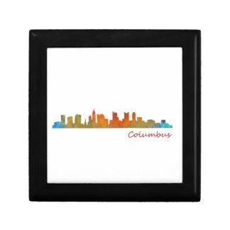 Columbus Ohio, City Skyline, v1 Gift Box
