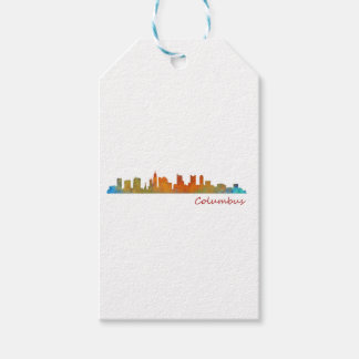 Columbus Ohio, City Skyline, v1 Gift Tags