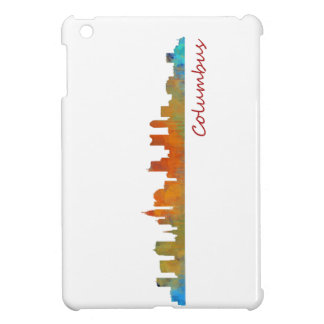 Columbus Ohio, City Skyline, v1 iPad Mini Cover
