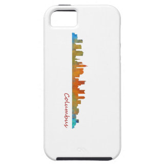 Columbus Ohio, City Skyline, v1 iPhone 5 Cases