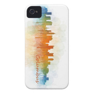 Columbus Ohio, City Skyline, v3 iPhone 4 Covers