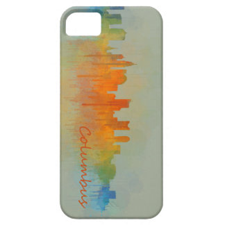 Columbus Ohio, City Skyline, v3 iPhone 5 Cases