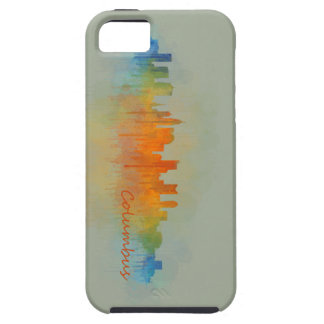 Columbus Ohio, City Skyline, v3 iPhone 5 Cover