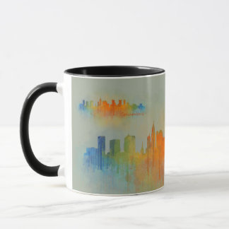 Columbus Ohio, City Skyline, v3 Mug
