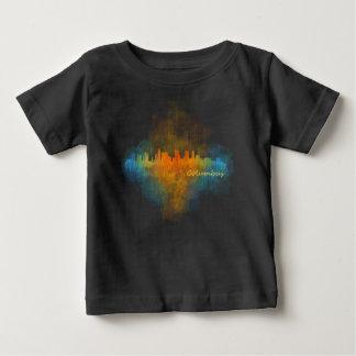 Columbus Ohio, City Skyline, v4 Baby T-Shirt