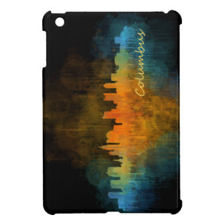Columbus Ohio, City Skyline, v4 iPad Mini Cover
