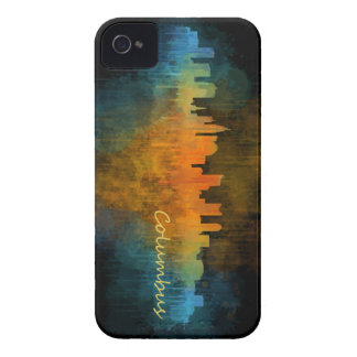 Columbus Ohio, City Skyline, v4 iPhone 4 Case