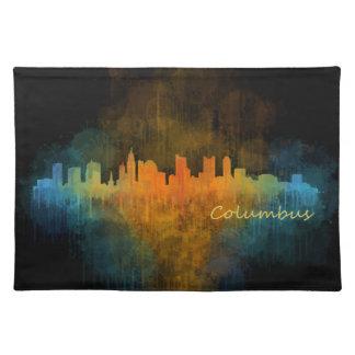 Columbus Ohio, City Skyline, v4 Placemat