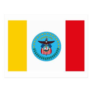Columbus Ohio Flag Postcard